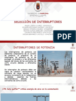 EXPO SELECCION DE INTERUPTORES