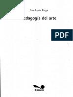 Pedagogía del Arte, Cap. 3