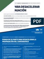 Coronavirus Guidelines SPANISH