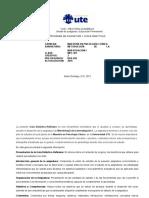 Metodología de la Investigación I MPC 401