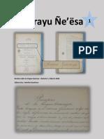 Gwarayu Ñe'ësa - Número 1