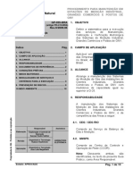 GP-035-BRA Rev.0 Manut. Estação Medição Indust., Grandes Comerc. e Postos GNV