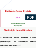 Aula 09 - Normal Bivariada
