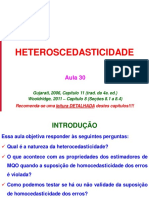 Aula 30 - Heterocedasticidade