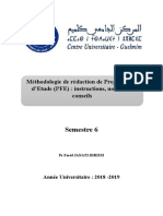 Methodologie de Redaction Du PFE
