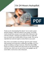Money making method 2020