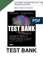 Anatomy Physiology 9th Patton Test Bank