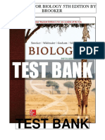 Biology 5th Brooker Test Bank