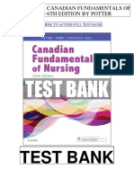 Canadian Fundamentals Nursing 6th Potter Test Bank