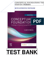 Conceptual Foundations 7th Friberg Test Bank