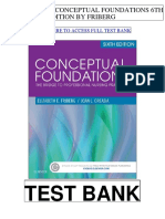 Conceptual Foundations 6th Friberg Test Bank