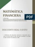 LECCIÓN 4 MATEMÁTICA FINANCIERA