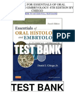 Essentials Oral Histology Embryology 4th Chiego Test Bank