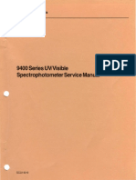 GC22-9219_9400_Series_UV_Visible_Spectrophotometer_Service_Manual