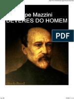 deveres do homem _ giuseppe mazzini