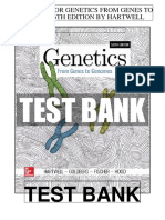 Genetics From Genes Genomes 6th Hartwell Test Bank