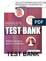 Goulds Pathophysiology Health Professions 6th Hubert Test Bank