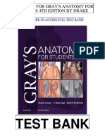 Grays Anatomy Students 4th Drake Test Bank