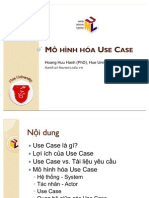 UML Use Case Modeling Vn