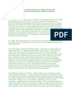 Overview and Advantages of eSagu Framework