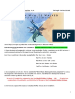 when whales walked worksheet parts 1-4  1