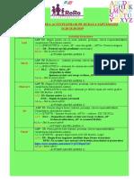 PLANIFICAREA ACTIVITĂŢILOR 14.10-18.10