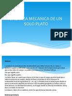 BALANZA MECANICA DE UN SOLO PLATO