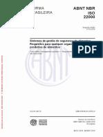 NBR ISO 22000-2018