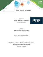 EDUCACION AMBIENTAL PASO 2. DIAGNOSTICO KEYNA-DIAZ