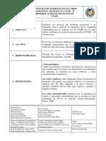 Protocolo intervención en crisis PAP CONVID-19