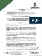 RESOLUCION 002345 DEL 28 DE FEBRERO DE 2017 MANUAL DE FUNCIONES ADMINISTRATIVOS SGP