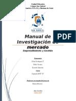 manual investigacion de mercado