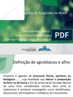 Legislacao e registro de fungicidas