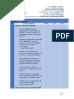 Organización y estructura de la empresa programa