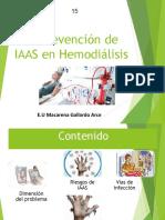 Clase 15 Prevencion de IAAS en Hemodialisis