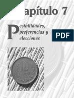 Posibilidades, Preferencias y Elecciones
