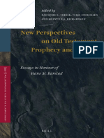 (Vetus Testamentum, Supplements) Rannfrid I. Thelle, Terje Stordaglen, Mervyn E. J. Richardson - New Perspectives on Old Testament Prophecy and History_ Essays in Honour of Hans M. Barstad-Brill Acade.pdf
