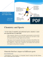 chemistry and sports