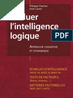 Evaluer l'Intelligence Logique - Approche Cognitive Et Dynamique