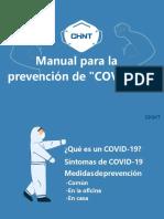 Manual para la prevención de COVID-19