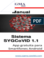 Manual App Sygcovid19 v.1.1 (Free)Sygma Sms
