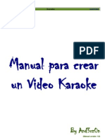 Manual Para Crear Un Video Karaoke by And3rz0n