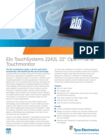 Elo TouchSystems 2242L