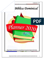 PLANNER calendario