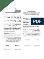 ACTA DE RETENCION DE DOCUMENTOS