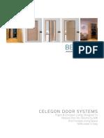 Celegon Door Systems Brochure