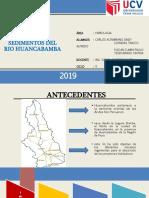 INFORME DE SEDIMENTOS DEL RIO HUANCABAMBA