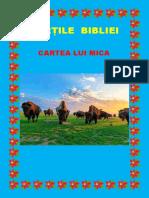 Cărți Din Biblie - Cartea lui Mica 33