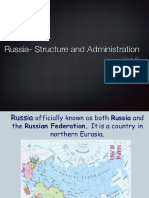 Russia-Structure and Administration