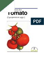 PLANT DESCRIPTOR Lycopersicon spp.